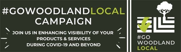 #GOWoodlandLocal Banner