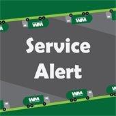 Green Waste Service Alert
