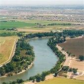 Aerial View of the Sacramento River