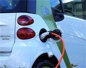Electric Car Charging Image