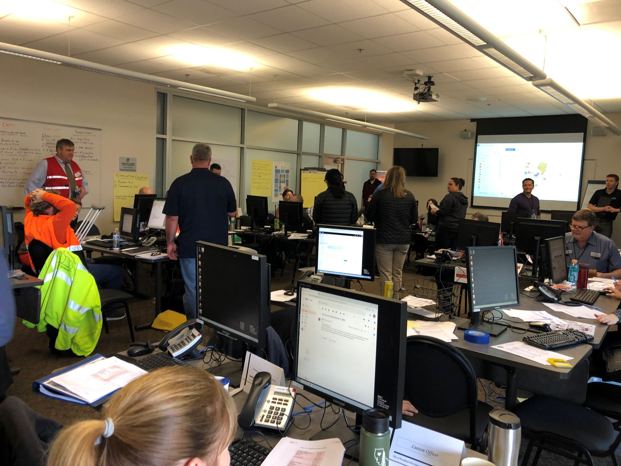Emergency Operations Center Drill