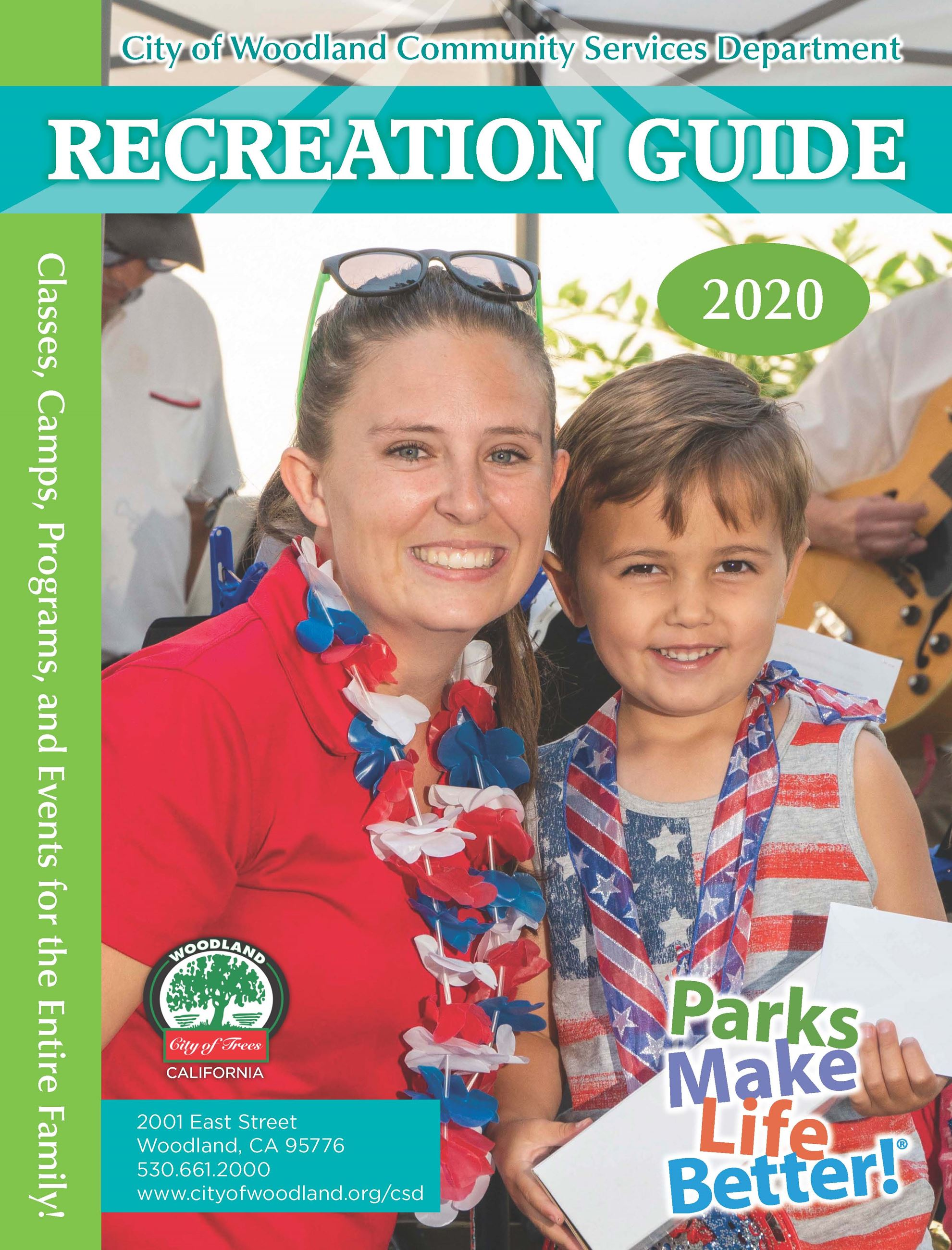 Recreation Guide front cover picture