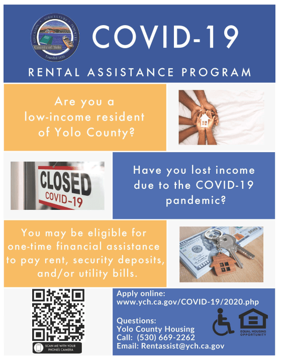 Covid 19 Resources For Eviction Prevention And Rental Assistance Woodland Ca