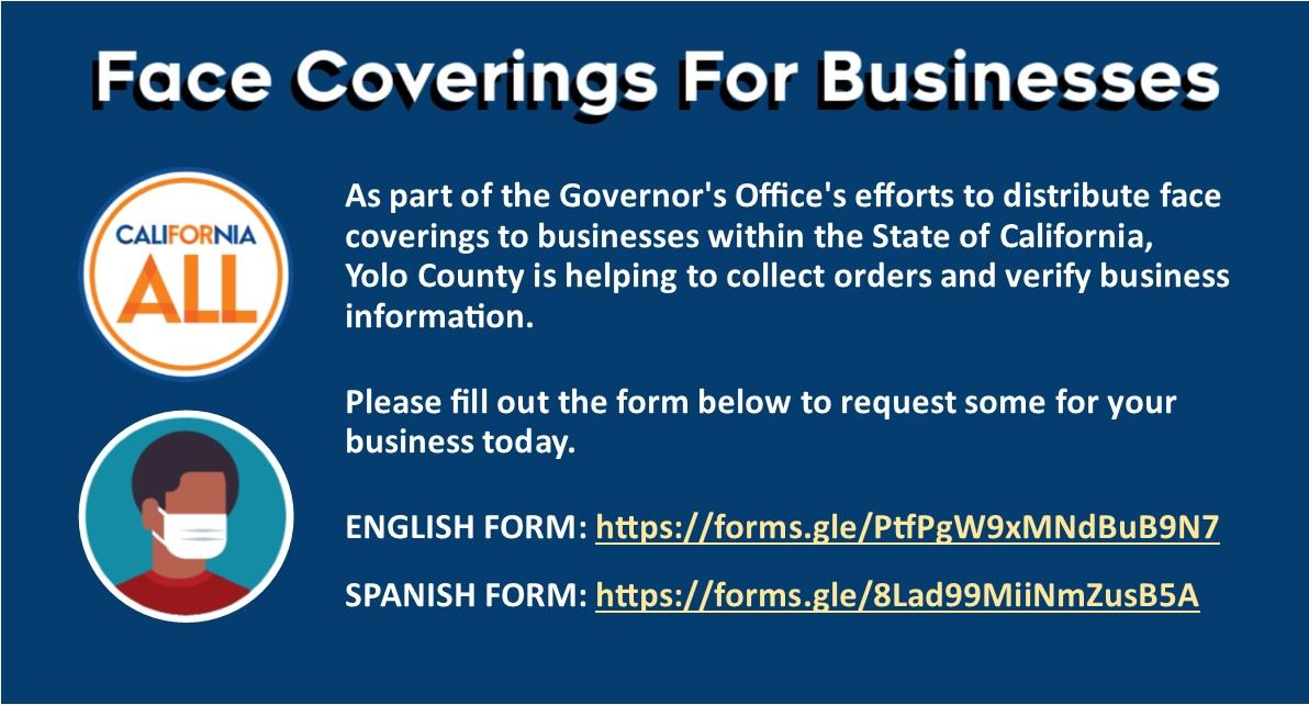 Business Face Covering Distribution